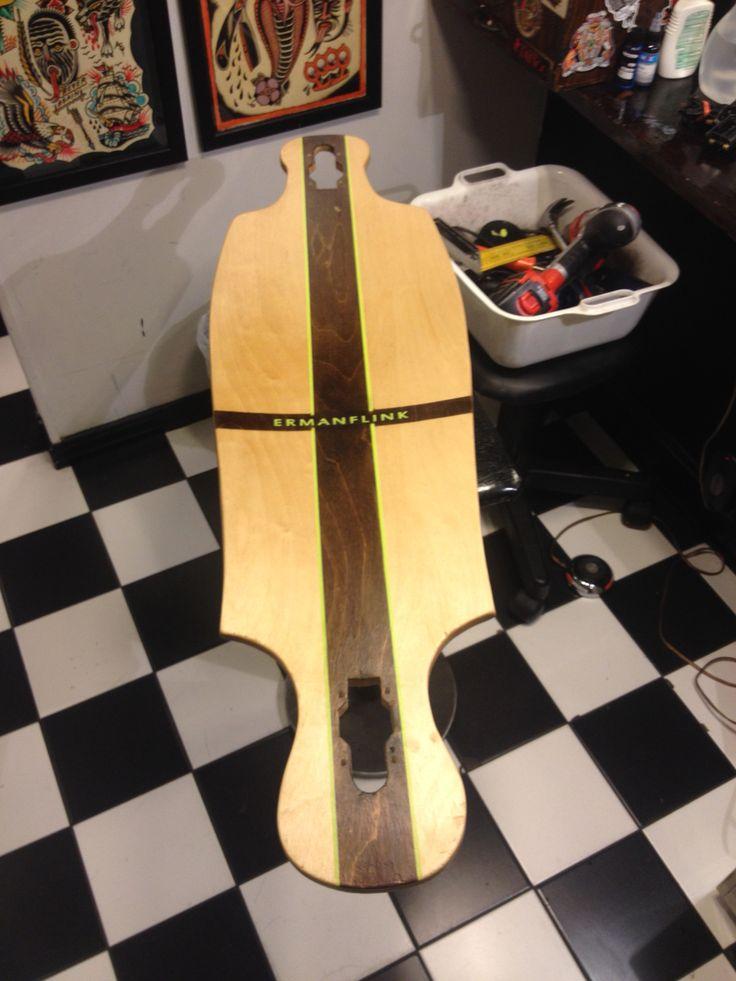 #Ermanboards #longboard #cruiserboard #ermanflink #ermanblixt #handmade #woodcraft #megaboard #skateboard #buildalongboard