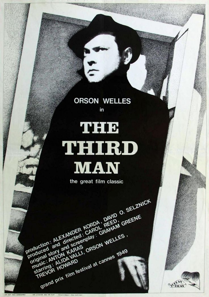 The Third Man....(and the classic radio program is equally worthwhile!)