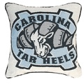 "North Carolina Tarheels Mascot 17"" Decorative Pillow"