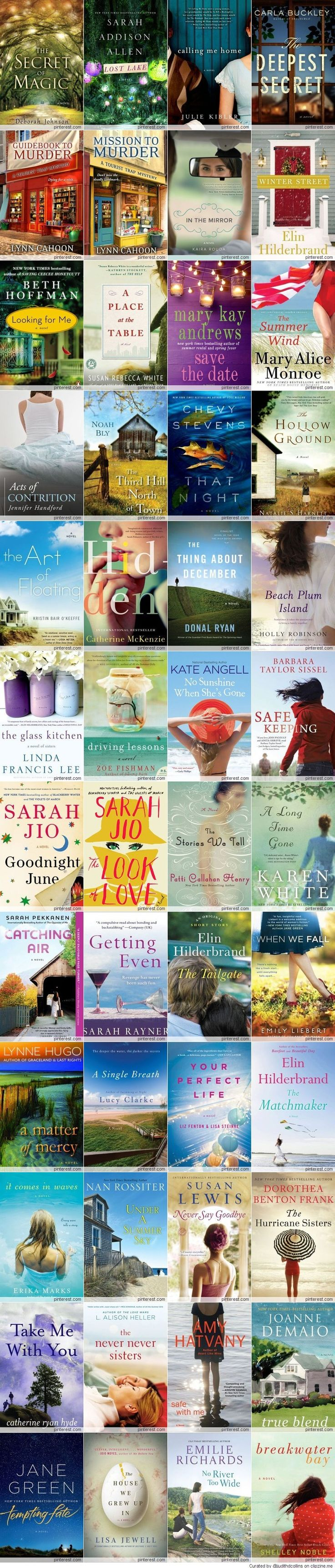 2014 Must Read Books...I gotta check these out....i'm always looking for something new to read!