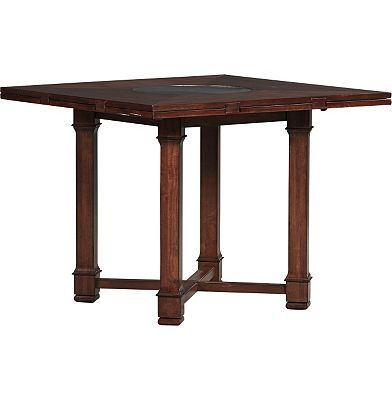Havertys Artisan Valley Counter Height Table Nook