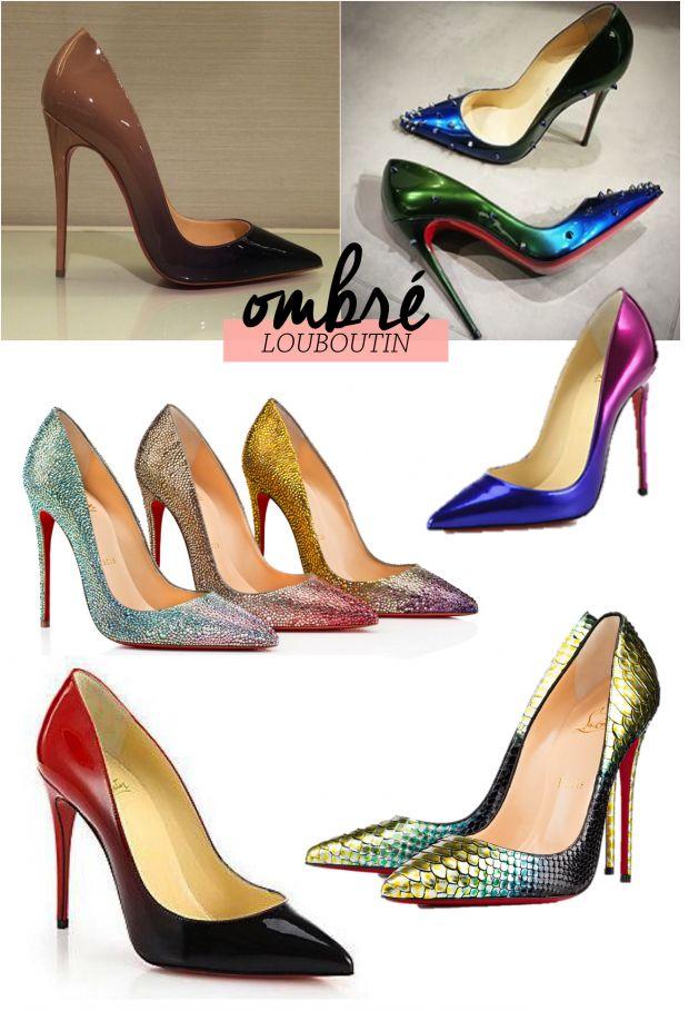 modelo ombr�� louboutin   Blog Fashionismo   Pinterest   Emma Stone ...
