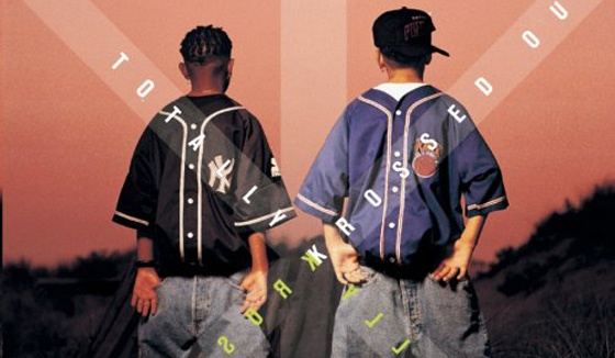 Kriss Kross and backwards clothing 1990's