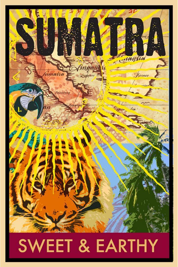 Sumatra Coffee Poster