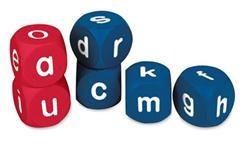 dés avec lettres
