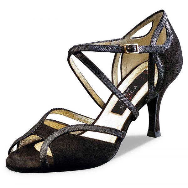 """Pour celles qui souhaitent une chaussure de danse sexy sans être sophistiqué, le modèle de chaussures de danse Shakira Neuva Epoca de Werner KERN conviendra parfaitement. Modèle """"Shakira"""" de Nueva Epoca 165€ www.label-latin.com"""