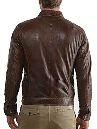 Leather Men's Leather Jacket for sale | leather jackets for sale | jackets for bikers at Amazon Men's Clothing store: