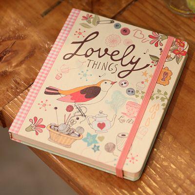 Cuaderno de notas Lady Desidia 01 - Línea - Lovely