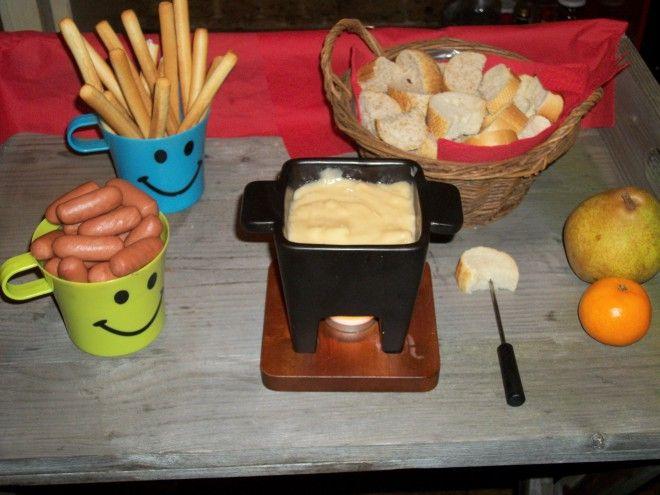 Kinder kaasfondue - Lekker Tafelen