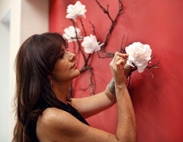 Decoración para eventos con flores de papel (18) - Decoracion de Fiestas Cumpleaños Bodas, Baby shower, Bautizo, Despedidas