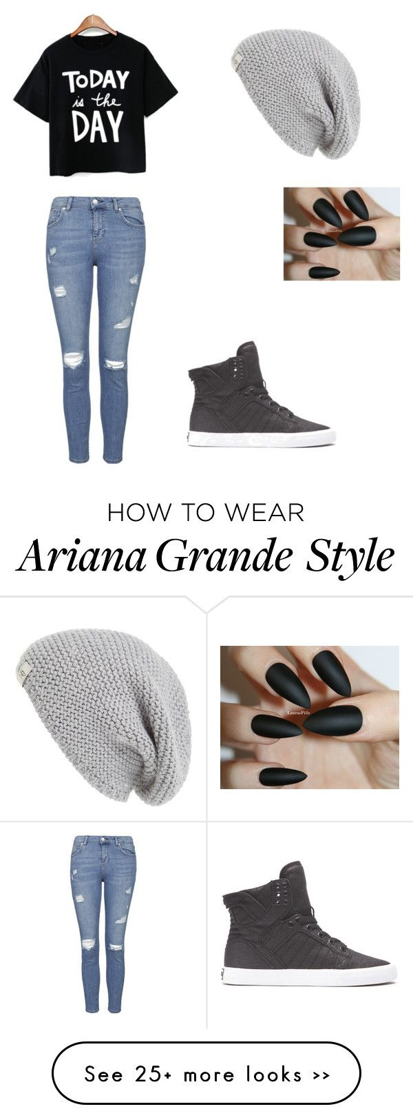 """""""with Ariana Grande"""" by slayyeettia on Polyvore"""