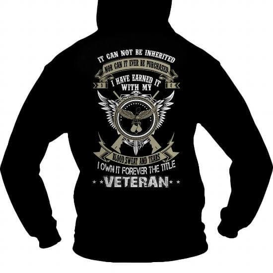 Veteran It Can not be inherited T-Shirts & Hoodies