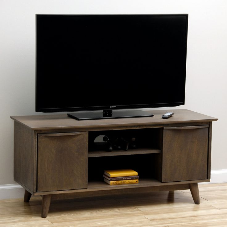 sterling charcoal grey media stand 193