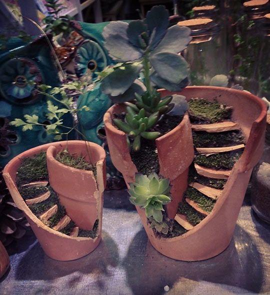 Broken Pot Art
