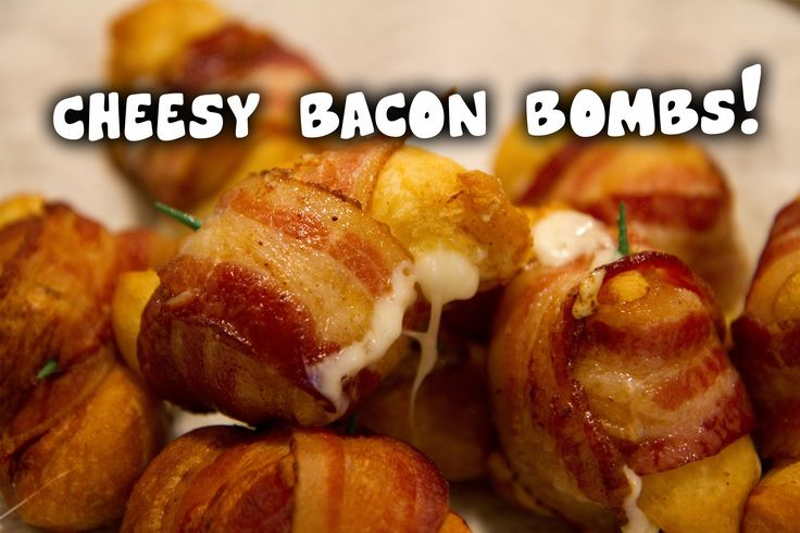 Quick and easy recipe for some tasty Cheesy Bacon Bombs! Full recipe here on my blog: http://bbqbros.net/cheesy-bacon-bombs/ I got the idea from here: http:/...