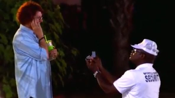 """In an exclusive """"Welcome to Myrtle Manor"""" video clip, Marvin asks Anne a very important question."""