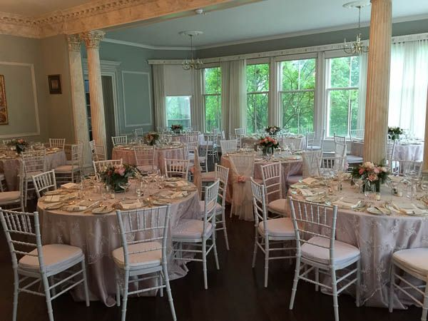 Dining hall at the Heritage House.  De La Salle College Oaklands Wedding