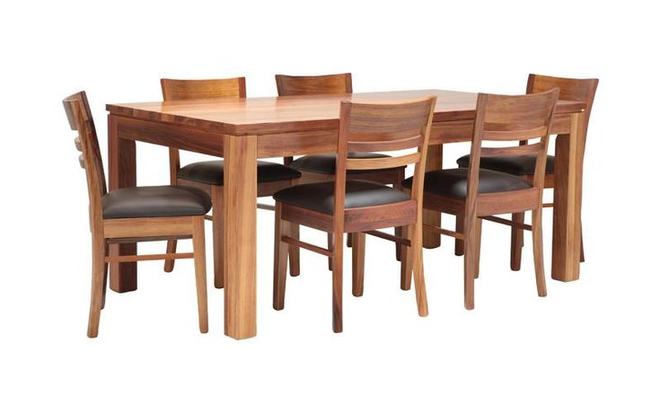 Love blackwood and the chairs are super comfy! $299 for the chairs, $1399 for the table