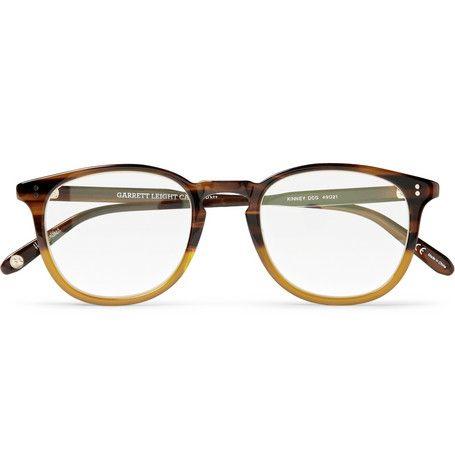 Garrett Leight California Optical Kinney D-Frame Acetate Optical Glasses