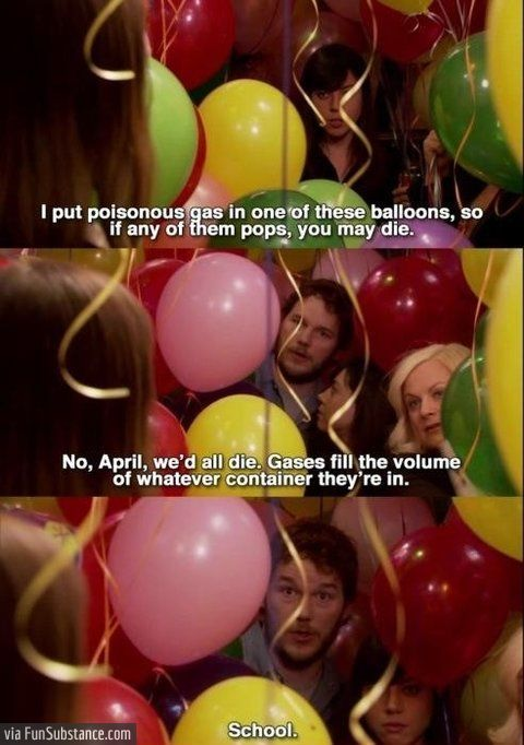 School.  Parks and Recreation, skip the first season and then go back to it.
