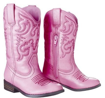 Target Daily Deal: Girls Pink Cowboy Boots Only $20 & More ...
