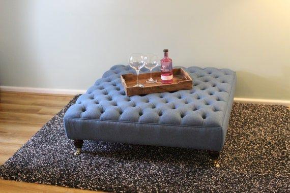 Extra Large Footstool Coffee Table
