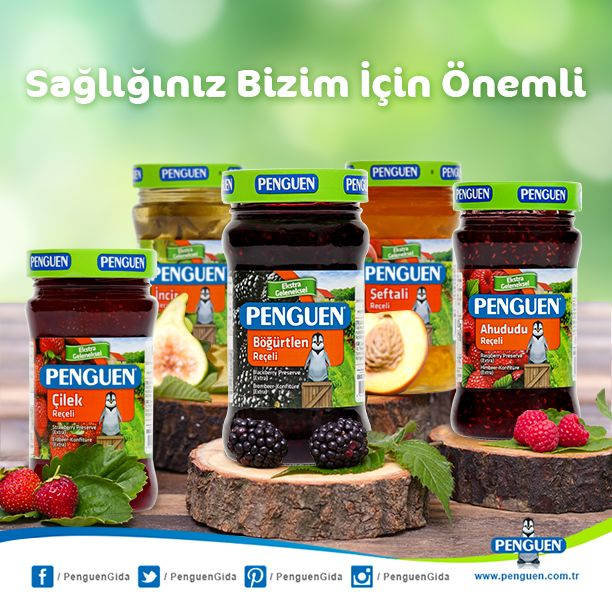 Katkısız Penguen Reçeller İle Sağlıklı Kahvaltılar :)