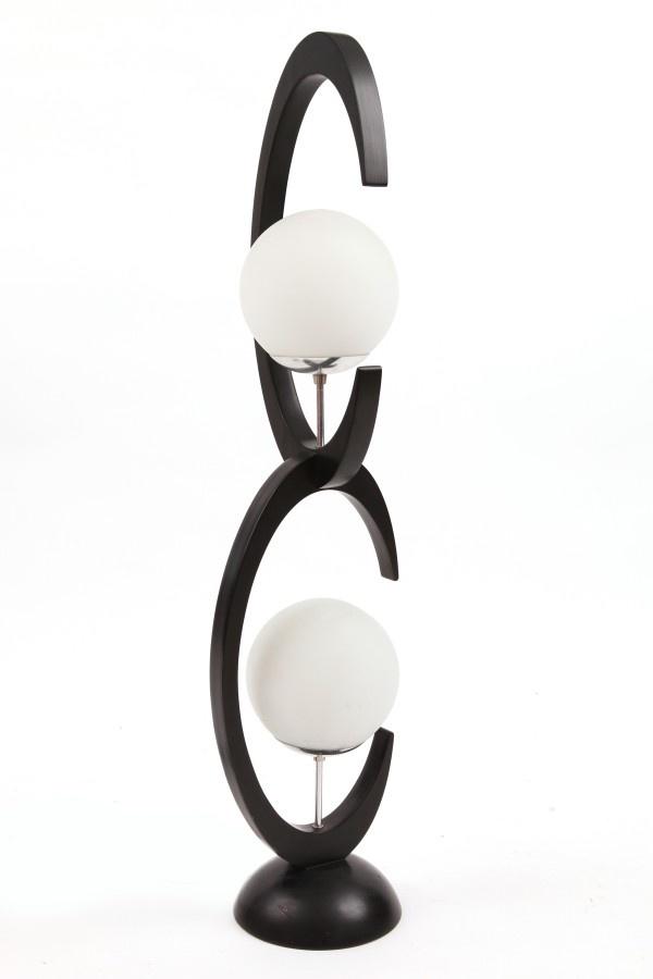 Sculptural Playboy Table Lamp | red modern furniture