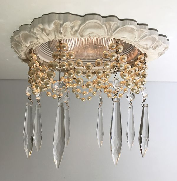 New Recessed Chandelier With Pearls My Studio Chandelier
