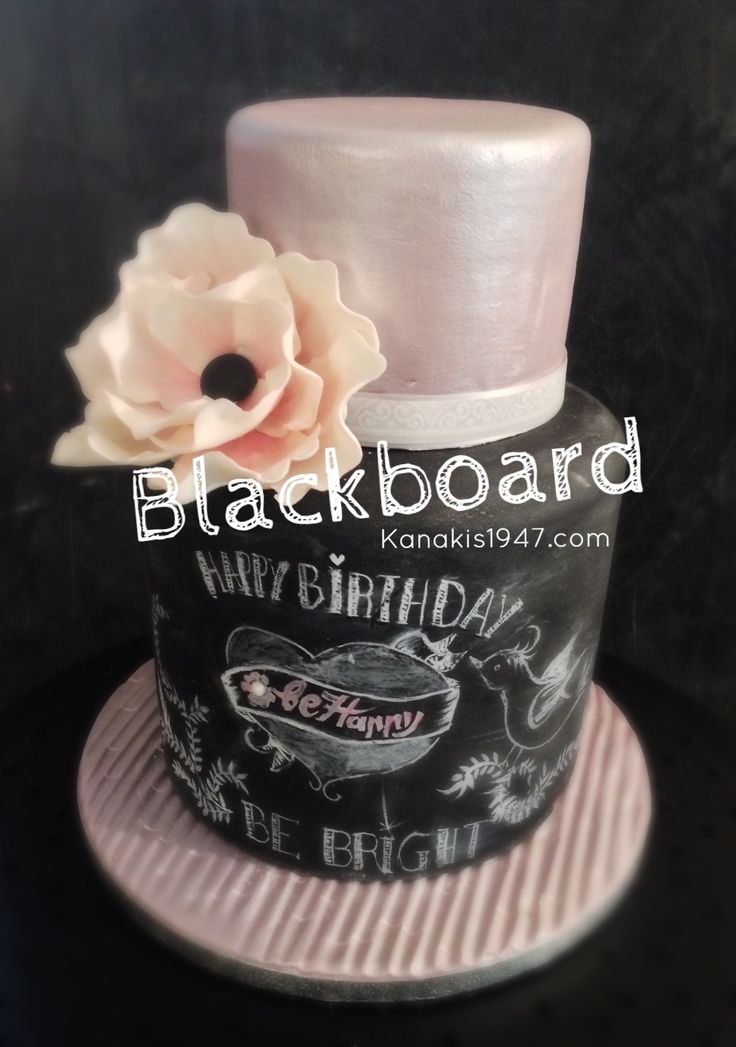 The sweetest memories were always on blackboard. Celebration is now an opportunity to create new ones!  http://www.kanakis1947.com/#!premium-bithday-cakes/ci50