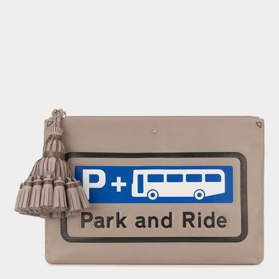 Park and Ride Georgiana Clutch
