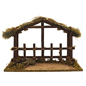 Nice Nativity Stable