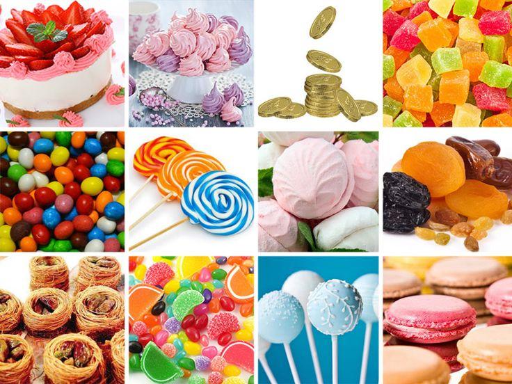сладости для candy bar