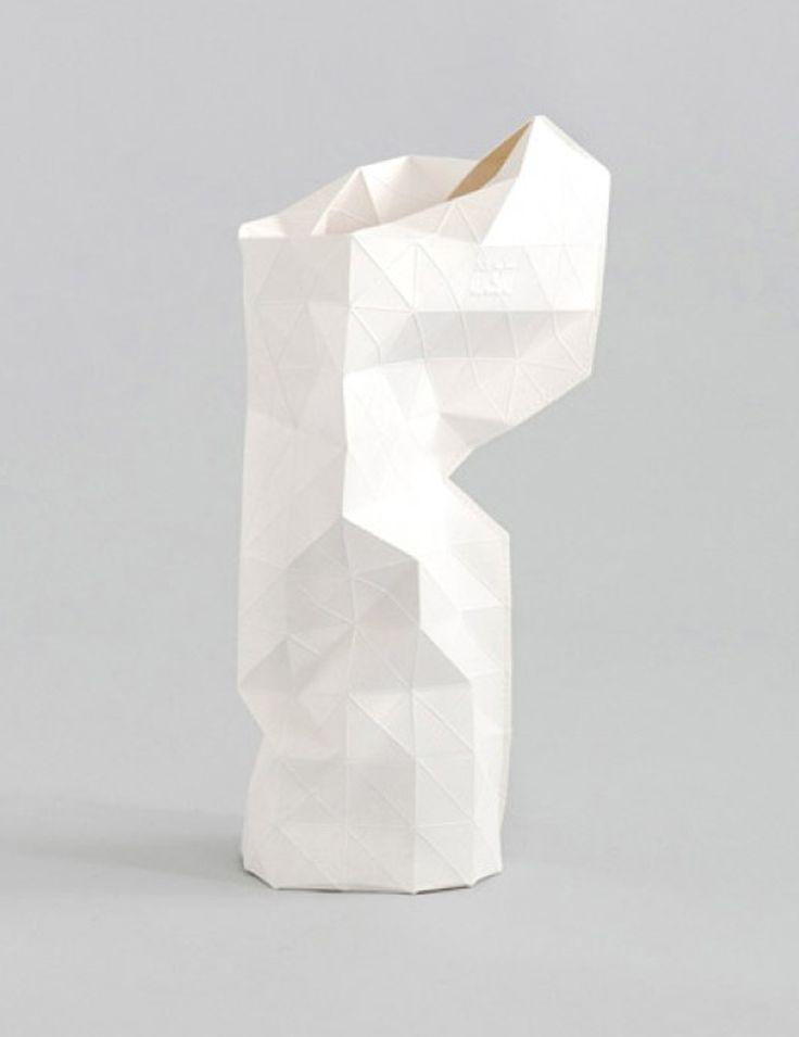 pepe heykoop – paper vase origami, diy, paper art