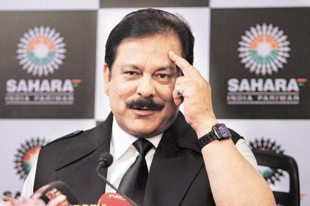 Sahara Group chief Subrata Roy. Sahara India Life Insurance was taken over by the IRDA on 12 June and on 23 June, it asked the company to stop issuing new policies. Photo: Reuters
