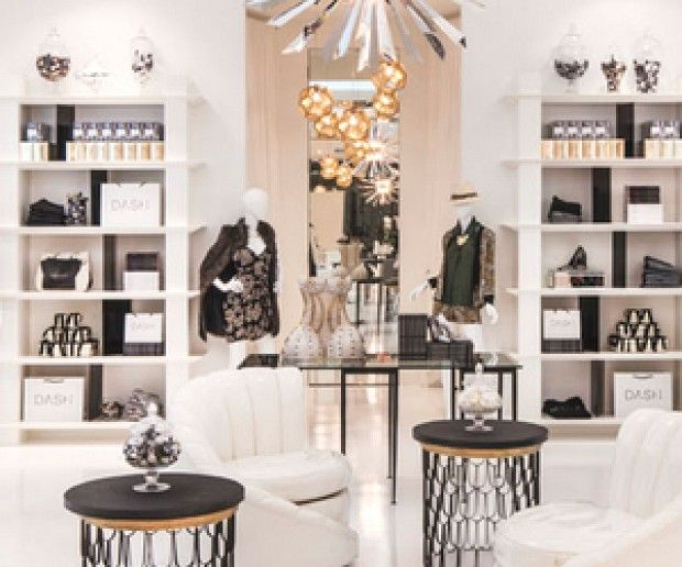 Kardashian Style: Inside Their Glamorous Melrose Boutique: With the help of designer Jeff Andrews, the Kardashians invite you to shop in style. via @domainehome