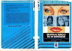 a vhs orig e_oticos juegos de la burguesia plus ca va moins ca va 1977 nadiuska