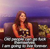 21 Reasons Why We Are Like Aubrey Plaza 7. We are in denial about our mortality.
