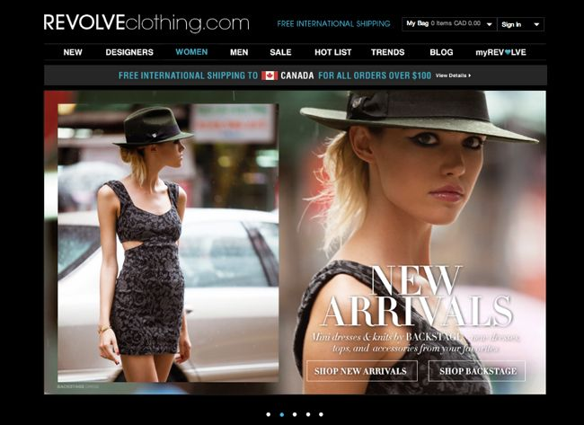 Best Online Shopping Sites: #1 Revolve Clothing - Crazy jean selection and huge sale selection!