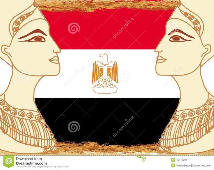 Bandera De Egipto - Bandera Egipcia Foto de archivo - Imagen: 44907813