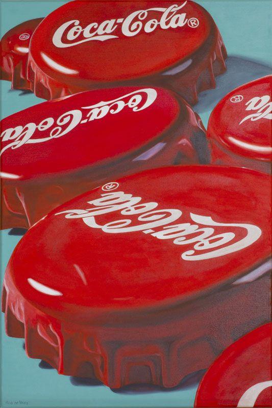 Finished. Coke... after Coke... after Coke, Oil on canvas 40 x 60 cm.