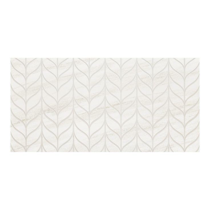 Płytka ścienna do wewnątrz pomieszczeń • Idealna do łazienki lub kuchni ✓ Arte Glazura Shellstone white struktura 29,8 cm x 59,8 cm kup teraz w OBI!
