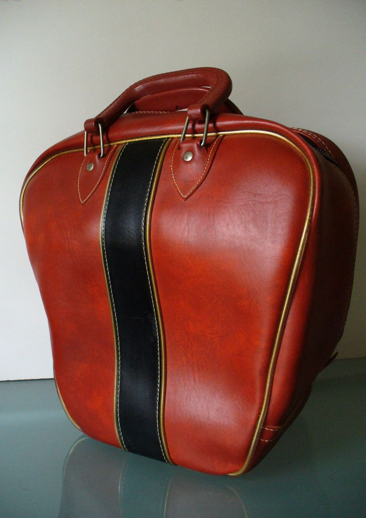 Vintage Gladding-Ranger Bowling Bag by TheOldBagOnline on Etsy