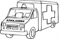 Thema vervoer ambulance