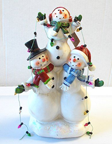 2 Joyful Snowmen Holding a Snowman Lights Table Decor 10' NWT Hanna's Handiworks http://www.amazon.com/dp/B00TR9OSNU/ref=cm_sw_r_pi_dp_8NYCwb1XJ43RX