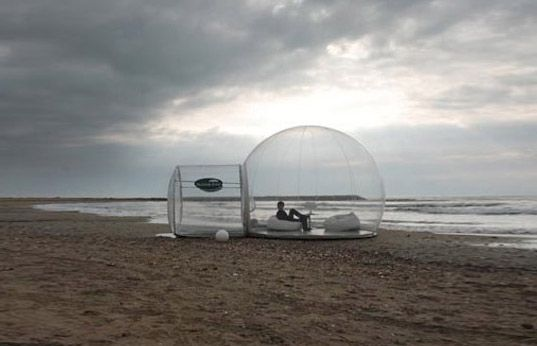 Prefabricated bubble tents offer 360-degree views | Inhabitat - Green Design, Innovation, Architecture, Green Building
