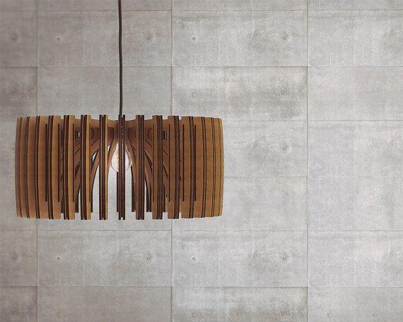 houten hanger licht door SINTHESIS AAarchiTECture Lab  DETAILS  materiaal: 4 mm multiplex (alle geschraapt met schuurpapier en gelakt 3 keer)  afmetingen: (hoogte 25cm (10 inch) - 50cm (20 inch) breed)  noodzaak vergadering maar zijn zeer gemakkelijk duurt slechts twee minuten.  Verpakking: Flat verpakt (eenvoudige instructies)  lamp niet inbegrepen  Gemaakt en ontworpen in Griekenland.  Gereed voor verzending in 3-5 dagen