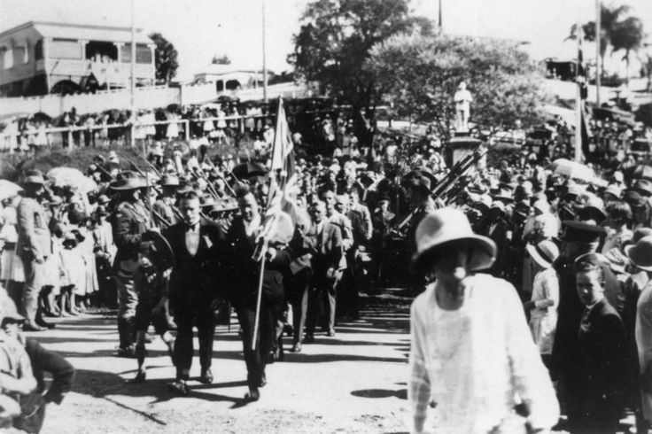 Anzac Day. Australia. 1922.