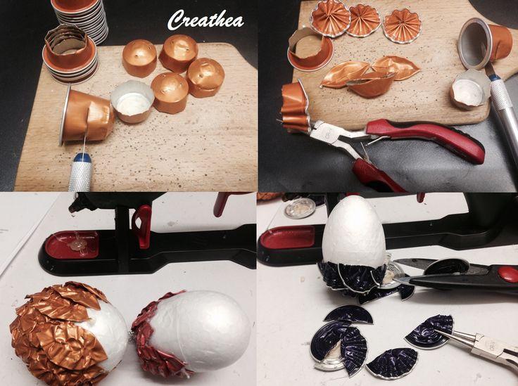 1000 images propos de avec des capsules nespresso sur - Que faire avec des capsules nespresso ...