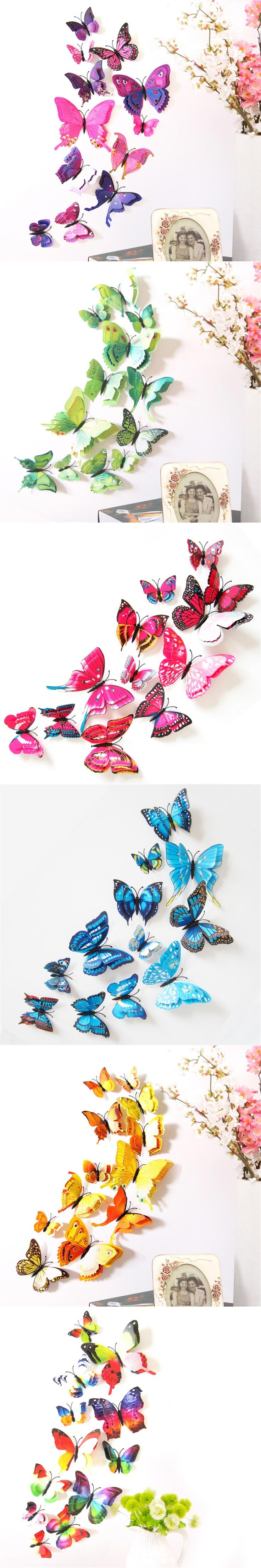 100 diy ombre butterfly wall art 3 d butterfly wall art